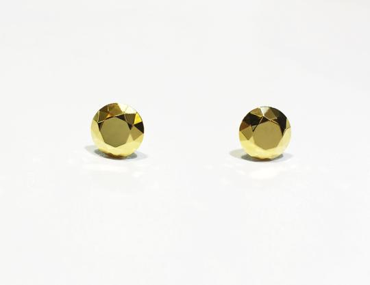 Tiffany & Co. Elsa Peretti Stud 18K Yellow Gold Earrings Image 2