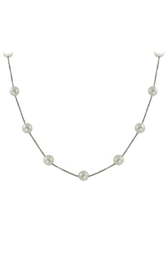 Imperial Pearl Imperial Pearl Sterling Silver 17 Inch Station Necklace Image 1