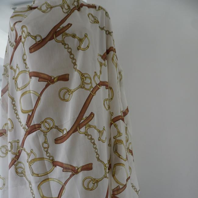 100% GUCCI FABTIC PANEL LARGE SIZE 88/56 inch for sewing dress short dress Multi color on Tradesy Image 4