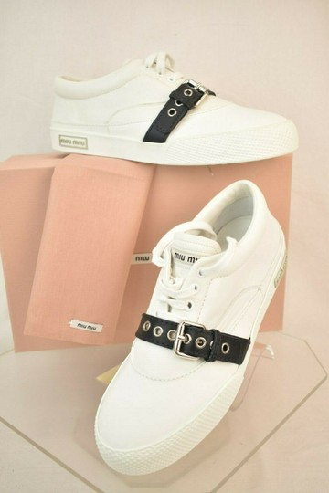 Miu Miu White Athletic Image 1