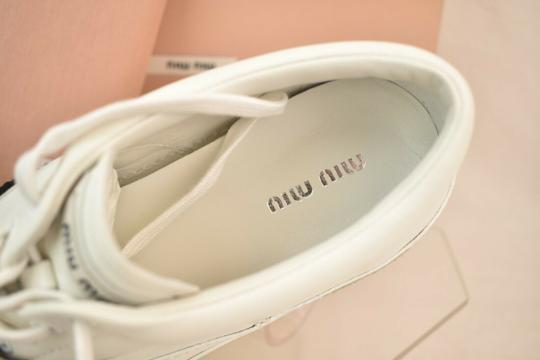 Miu Miu White Athletic Image 10