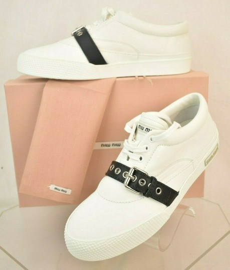 Miu Miu White Athletic Image 2