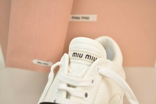 Miu Miu White Athletic Image 8
