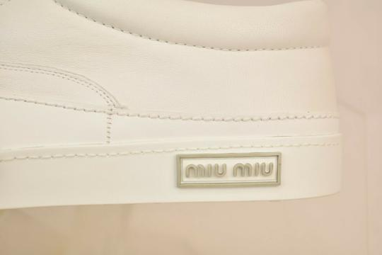 Miu Miu White Athletic Image 9