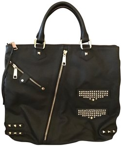 Rebecca Minkoff Leather As Seen On Tv Tote in Black