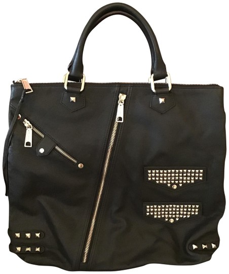 Rebecca Minkoff Leather As Seen On Tv Tote in Black Image 0