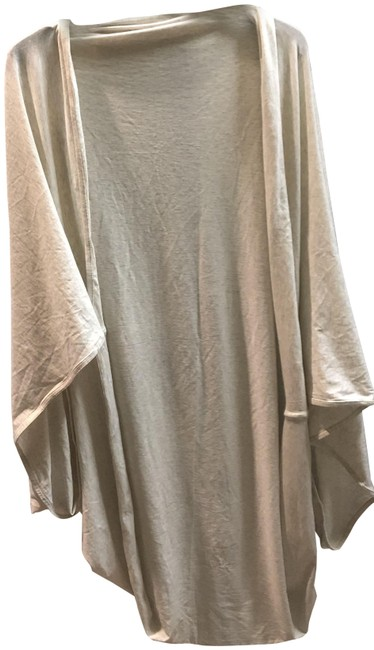 Item - Oatmeal Sage Scarf Tee Poncho/Cape Size OS (one size)