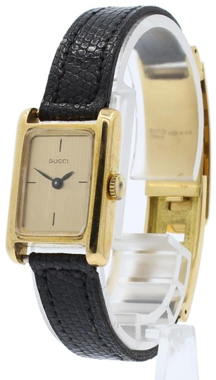 Preload https://img-static.tradesy.com/item/25587608/gucci-gold-w-rare-vintage-1960-s-18k-yellow-solid-fancy-buckle-la-watch-0-1-540-540.jpg