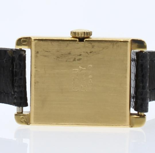 Gucci RARE Vintage 1960's GUCCI 18k Yellow Gold w Solid Gold Fancy Buckle La Image 6