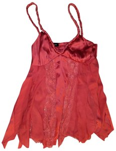 Bebe Silk Size Small Top pink
