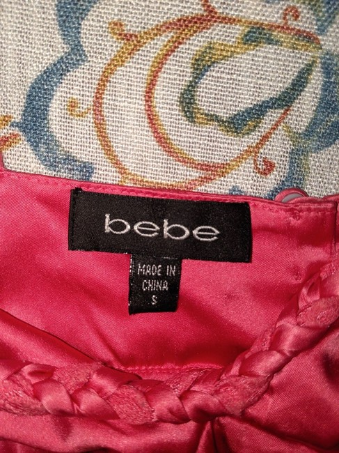 Bebe Silk Size Small Top pink Image 5