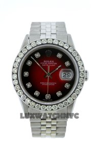 Rolex 2Ct 36mm Men's Datejust S/S with Box&appraisal Watch