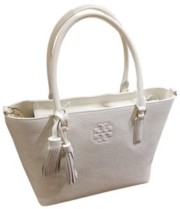 Tory Burch Tote in new ivory/white