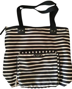 Kate Spade Weekend Travel Black and White Messenger Bag