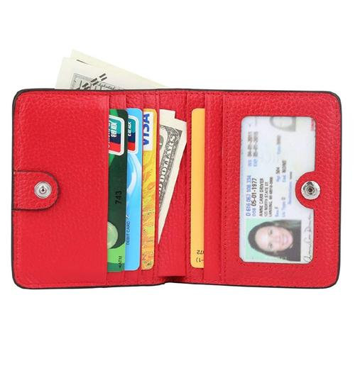 Other RFID WOMEN'S SMALL BIFOLD LEATHER WALLET Image 6