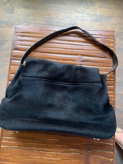 Anya Hindmarch Leather Pony Fur Shoulder Bag Image 1
