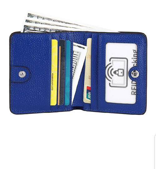 Other RFID WOMEN'S SMALL BIFOLD LEATHER WALLET Image 2