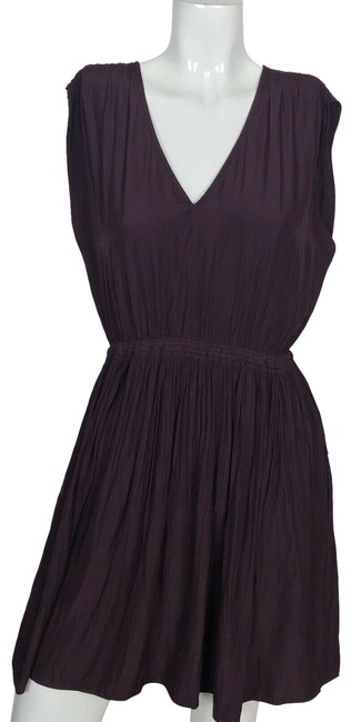Preload https://img-static.tradesy.com/item/25588080/wilfred-purple-fit-flare-neck-career-short-casual-dress-size-4-s-0-1-650-650.jpg