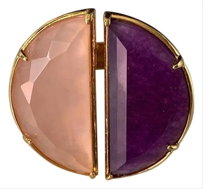 Item - Gold Pink and Purple Ring