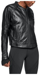 Under Armour Leather Motorcycle Jacket