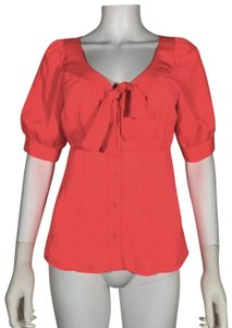Nanette Lepore Polyester Top Pink