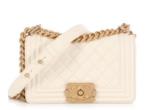 Chanel Ch.q0430.11 Quilted Gold Hardware Ghw Cross Body Bag