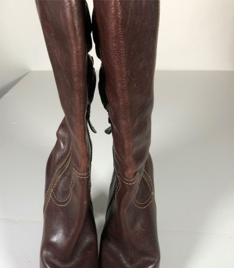 FRYE Leather Brown Boots Image 1