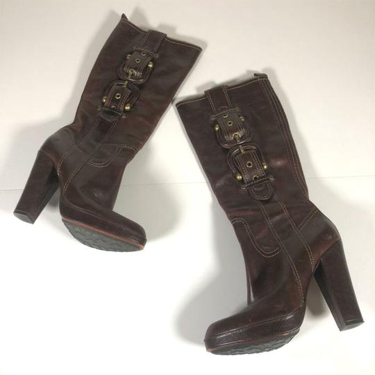 FRYE Leather Brown Boots Image 2
