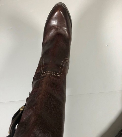 FRYE Leather Brown Boots Image 3