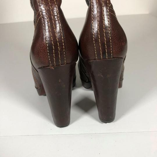 FRYE Leather Brown Boots Image 4