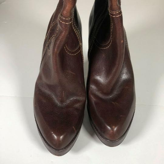 FRYE Leather Brown Boots Image 7