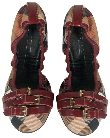 Preload https://img-static.tradesy.com/item/25588236/burberry-multicolor-ballerinas-novacheck-canvas-leather-flats-size-us-7-regular-m-b-0-1-540-540.jpg