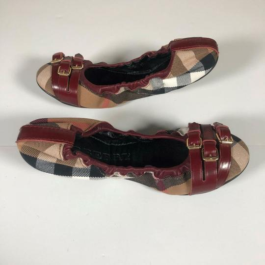 Burberry Canvas Multicolor Flats Image 1
