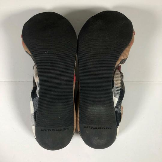 Burberry Canvas Multicolor Flats Image 6