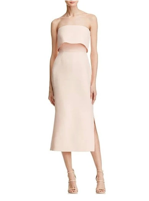 Preload https://img-static.tradesy.com/item/25588423/blush-pink-cmeo-collective-strapless-mid-length-cocktail-dress-size-8-m-0-0-650-650.jpg