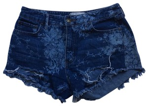 Free People Denim Paige Madewell Religion Current Levis Spoon J. Crew Cut Off Shorts blue