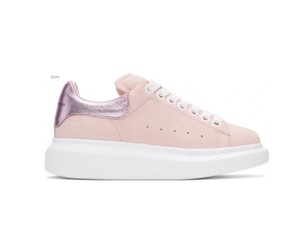 Alexander McQueen pink and white Athletic