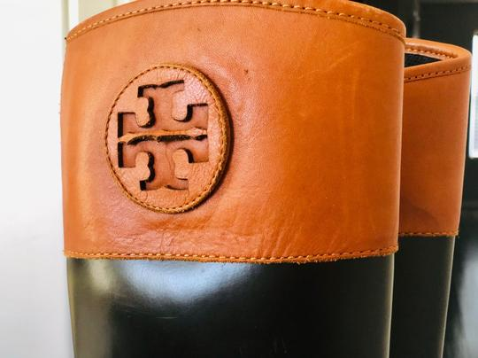 Tory Burch Brown/Black Boots Image 3