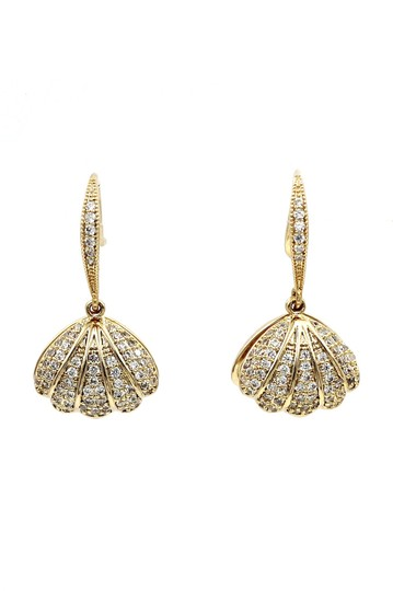 Preload https://img-static.tradesy.com/item/25588833/gold-small-exquisite-shell-pearl-pendant-earrings-0-0-540-540.jpg