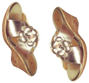 Jaclyn Smith Silver Mules