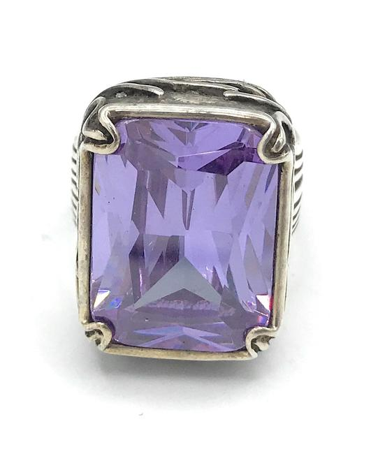 Item - Amethyst R2001 Lavender Fields Size 6 Ring