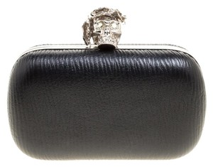 Alexander McQueen Leather Black Clutch