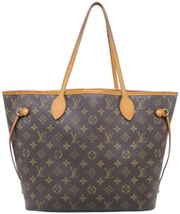 c9395c2303a Louis Vuitton Lv Neverfull Mm Monogram Canvas Shoulder Bag