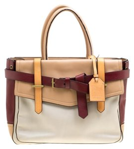 Reed Krakoff Leather Tote in Multicolor