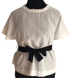 United Colors of Benetton Top White/Black