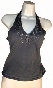 New York & Company Size Small Summer gray Halter Top