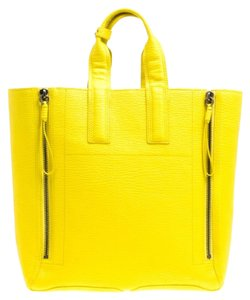 3.1 Phillip Lim Leather Tote in Yellow