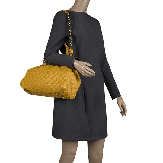 Marc Jacobs Leather Satchel in Yellow Image 1