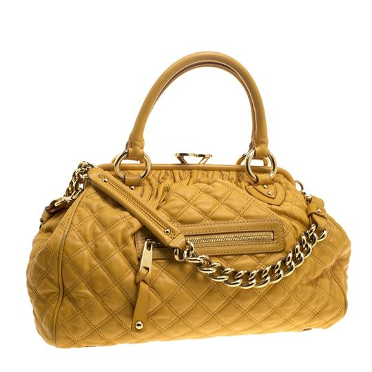 Marc Jacobs Leather Satchel in Yellow Image 2