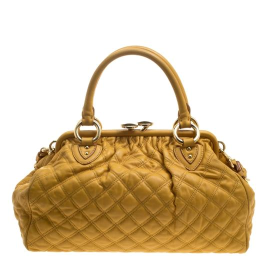 Marc Jacobs Leather Satchel in Yellow Image 3